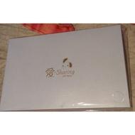 愛 Sharing晶鑽時尚圍巾 白色 100%聚脂纖維 施華洛世奇swarovski 圍巾