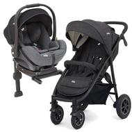 【Joie】mytrax 豪華二合一手推車+ISOFIX 嬰兒提籃汽座