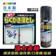 日本製 環保分解 強力去漆除膠劑 噴漆塗鴉油性筆貼紙口香糖 強力去除 去漆劑 除漆劑 除膠劑 420ml 油老爺快速出貨