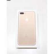 iPhone 7+ Apple 二手機 金色