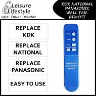 Fan Remote KDK / Panasonic / National Wall Fan Remote Control Wall Fan Remote for KDK Fan Remote Panasonic Fan Remote National Fan Remote