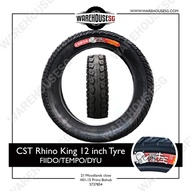 CST Rhino King 12 inch Tyre FOR FIIDO/TEMPO/DYU