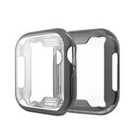 【Buy 1 get 1 free】Clear Case For Apple Watch Series 6 SE 5 4 3 2 1 With Screen Protector for apple watch 38mm 40mm 42mm 44mm Protective Case