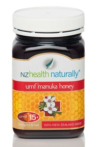 NZ Health Naturally Manuka Honey UMF 15+ 500G