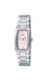 Casio นาฬิกา ผู้หญิง สายสแตนเลส รุ่น LTP-1165A-4 - Silver