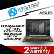 "ASUS TUF AI5 FA506Q-MHN063T 15.6"" FHD GAMING LAPTOP - R7 5800H   RTX3060   16GB 512GB SSD   ECLIPSE GRAY"