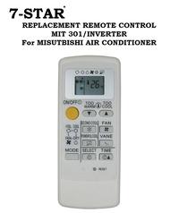 REPLACEMENT REMOTE CONTROL MIT301/INVERTER For Mitsubishi Inverter Aircon Remote (For Mitsubishi Starmex Aircon Remote)