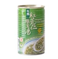 【里仁】有機紅薏仁綠豆湯320g/罐