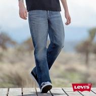 Levis 男款 514 低腰直筒牛仔褲 / 立體大刷白 / 彈性布料 M