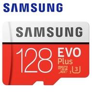 【Samsung 三星】128GB 100MB/s EVO Plus microSDXC TF UHS-I U3 記憶卡(平輸)