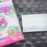 【日本進口】6片2包 Melody浮水印 兒童口罩 嬰兒口罩 幼幼口罩(0-15歲用/時尚兒童/涼爽)
