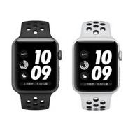 Apple Watch Series 3 Nike+ GPS 42mm 太空灰色鋁金屬配黑色 Nike運動型錶帶(MTF42TA/A)