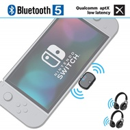 CRDC Aptx Low Latency USB/Type C Bluetooth 5.0 Audio Transmitter USB-C Wireless Adapter for Nintendo