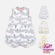 【Mamaway媽媽餵】空調防踢被 調溫、抗菌 防踢背心(2款4色)