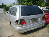 賓士 BENZ W210 E55 AMG KT Wagon 五門旅行車 全車拆賣 大包 方向盤 氣囊 排氣管 內裝 前中後座椅 第三排 大燈 尾燈 底盤 引擎