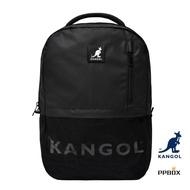 KANGOL 袋鼠 經典 後背包 字母 串標 尼龍 休閒包 多功能 耐重 包裝箱商城 6925320720