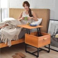 【班尼斯】金剛百變 收納升降邊桌/小茶几/造型桌/筆電桌/工作桌/書桌(茶几)