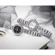 MON Yaqin Shue Poncha Bead Crystal Quartrz Diamond Watch