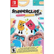 Nintendo Switch《你裁我剪!斯尼帕 加強版 Snipperclips Plus: Cut it out, Together》 中英日文美版