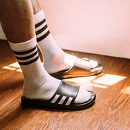 9527 ADIDAS AQUALETTE CF 黑白 三本線 防水 三條線 軟底 運動 拖鞋 CG3540 男女