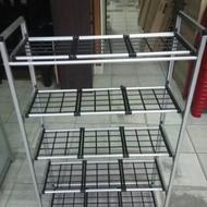 Shoe Rack Aluminium 5 Tier