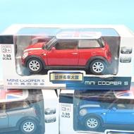 英國 MINI COOPER S 合金車 (3號白盒)/一台入(促199)1:30模型車 迴力車~生TOP310