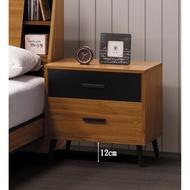 【傢俱專家】B20021-3肯詩特淺柚木色床頭櫃(單只)/床頭櫃/全新品/可自取哦~~【台北都會區滿5000元免運費】