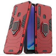 Vivo Y11 Y12 Y17 2019 Case Hard Shockproof Ring Car Armor Phone Casing Vivo Y17 Y 17 VivoY17 Cover Stand
