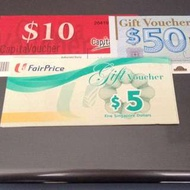 Want To Buy - Capital Mall / Choice Vouchers / NTUC Vouchers