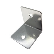 D31 2入裝 50X50 mm L型角架 固定片 鐵片 白鐵 不銹鋼 寬型內角鐵