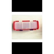 神奇寶貝TRETTA 絕版 日本官方卡盒 卡匣收納盒(紅色) 可放30枚