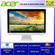 [ผ่อน 0% 10 ด.]ALL-IN-ONE  ACER ASPIRE C20-820-374G5019MI/T004 / By Top Computer