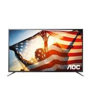FB分享送吸塵器★AOC美國65吋4K聯網含運無安裝電視65U6090《門市第4件8折優惠》