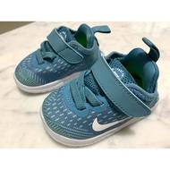 Nike 藍綠色嬰幼兒鞋