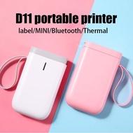 【HOT】Niimbot D11 Mini wireless Label Printer Handheld Bluetooth Barcode Label Printer D61 Portable Thermal Printer label maker