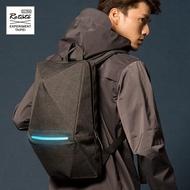 ROTATE GEOMETRY 立體幾何後背包 防水發光機能雙肩包 反光安全多功能 未來折紙男包