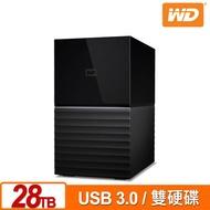 WD My Book Duo 28TB(14TBx2) 3.5吋雙硬碟儲存 WDBFBE0280JBK