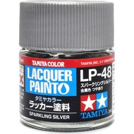 Dragon Door Tamiya Tin Palace Nitrifying Paint Lp - 48 Shiny Silver