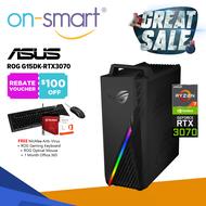 【Next Day Delivery】ASUS ROG G15DK-RTX3070 Gaming Desktop | AMD Ryzen 7-5800X | 32GB RAM | 512GB SSD + 2TB HDD | NVIDIA GeForce RTX3070 | 3 Years Warranty