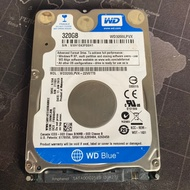 WD 威騰 320GB 筆電用2.5吋硬碟