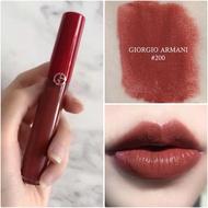 現貨亞曼尼 GIORGIO ARMANI奢華絲絨訂製唇萃Lip Maestro/GA唇萃/GA紅管206/200口紅