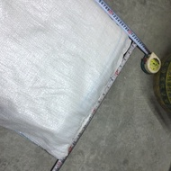 二手》近全新 米袋 砂石袋 肥料袋 OPP袋 編織袋 垃圾袋 50*60 (cm)