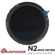 【SUNPOWER】N2 ND32-ND1000 磁吸式可調多功能濾鏡