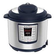 Instant Pot Lux 6 Qt Blue 6-in-1 Muti-Use Programmable Pressure Cooker, Slow Cooker, Rice Cooker, Sa