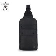 【PORTER INTERNATIONAL】MELODY造型單肩包(黑)