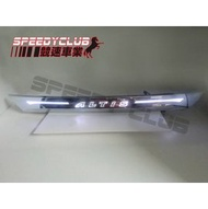 競速 SPEEDY 豐田ALTIS 11代 14~16年 LED 鍍鉻後箱蓋飾條