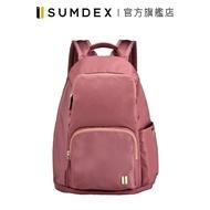 Sumdex|輕簡防盜後開後背包 NOA-764CR 紅色 官方旗艦店