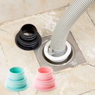 【PS Mall】伸縮排水口密封圈 硅膠 洗衣機 排水管 地漏 矽膠 螺紋 水槽 接縫 防臭 2入 (J315)
