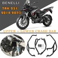Ultrasupplier For Benelli TRK251 TRK 251 2018 2019 2020 Bumpers Safty Motorcycle Engine Bumper Guard Crash Bars Protector Steel Accessories