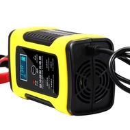 汽車摩托車電瓶充電器12V伏全智慧通用修復型鉛酸蓄電池充電機
